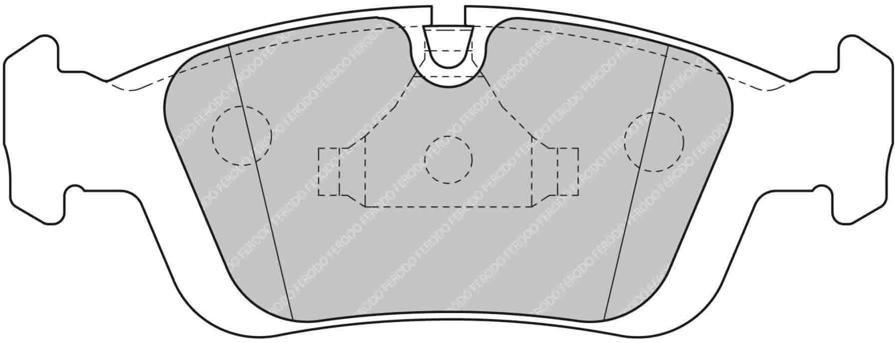 FCP1300H Car Racing - Brake Pads - Fcp1300