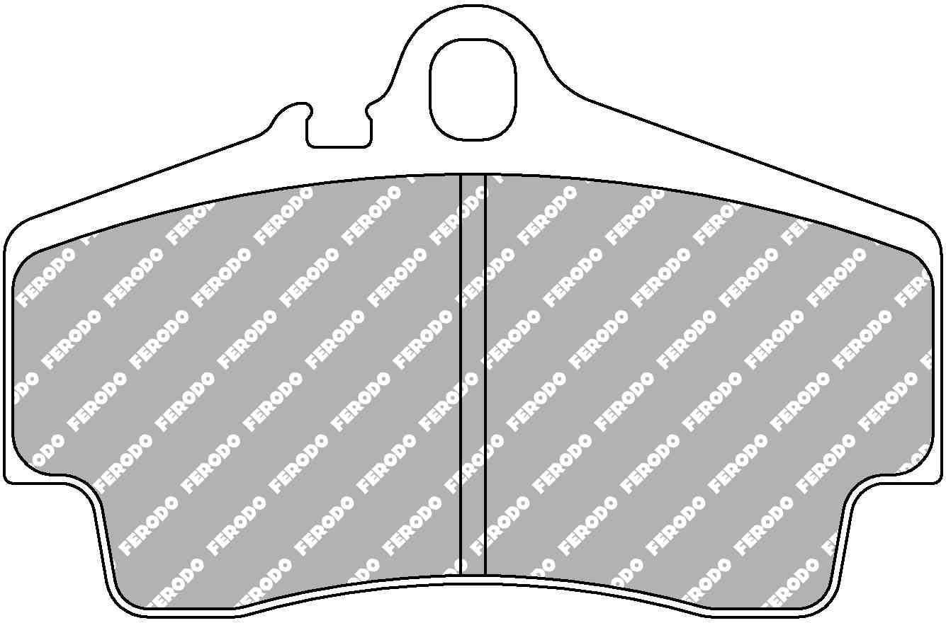 FCP1308H Car Racing - Brake Pads - Fcp1308