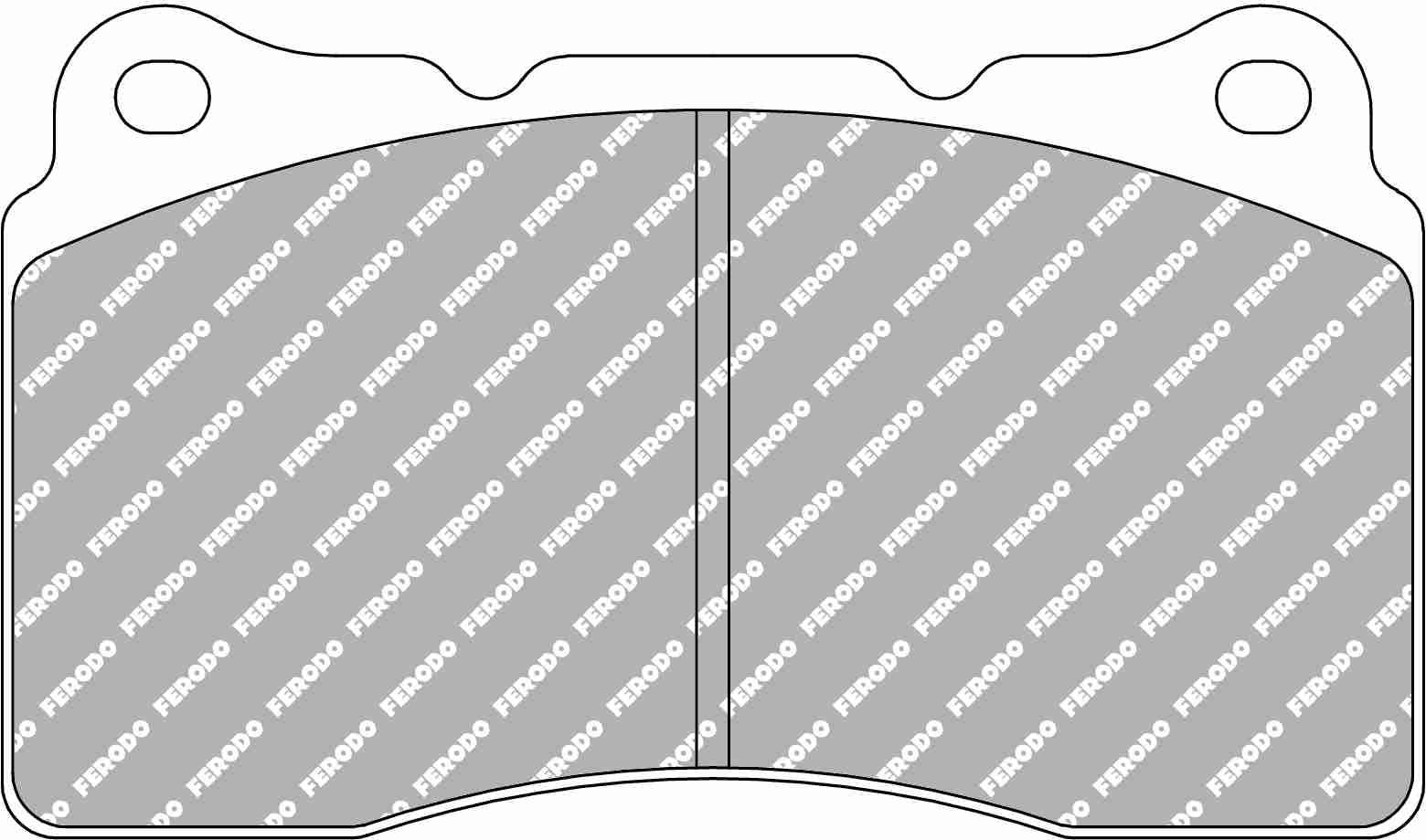 FCP1334R Car Racing - Brake Pads - Fcp1334